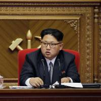 Kim taps image of his grandfather, North Korea's eternal leader, to project power