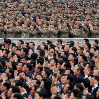 North Koreans take part in massive parade after congress names Kim Workers' Party chairman