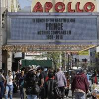 Prince to be added to the Walk of Fame of New York's Apollo Theater