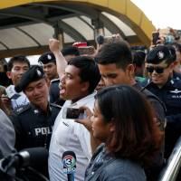 Mother of Thai anti-junta activist charged with insulting monarchy