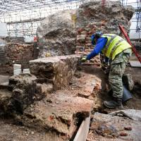Secrets of early Shakespeare theater dug up in London