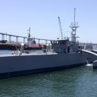 U.S. military ready to begin testing unmanned ship designed to cross oceans