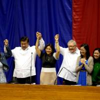 Duterte snubs his proclamation as Philippine president