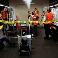 Feds release invisible gas in NYC subway to study potential biological attack