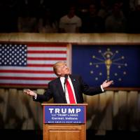 Trump hopes to trounce Cruz in Indiana; Hoosiers test his evangelical credentials