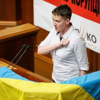 Freed pilot Savchenko sworn in as Ukrainian lawmaker