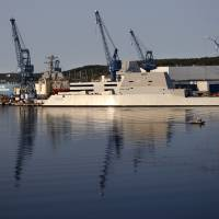 With Capt. James Kirk in command, U.S. Navy set to take ownership of largest destroyer