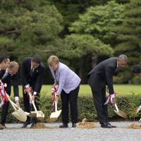From the sidelines of the G-7 Ise-Shima Summit