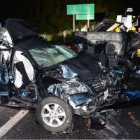 Mother and two children killed in seven-car pileup in Yamaguchi