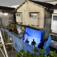 Hyogo man with apparent noise gripe held in deadly attack on neighbor, visiting daughter