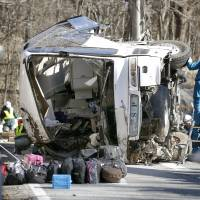 Tour bus safety rules further tightened after deadly Nagano crash