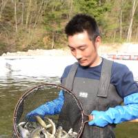 Fukushima river fish business plots revival after spotless tests