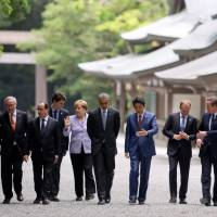 G-7 vows to ease plight of middle class worldwide