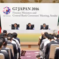G-7 finance leaders reject coordinated action to revitalize global economy