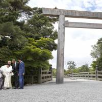 Abe's pro-Shinto motives in spotlight with choice of G-7 opening ceremony venue