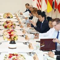G-7 meets developing countries amid China concerns