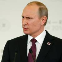 Putin says Russia will not sell isles to Japan