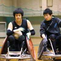 Young wheelchair rugby player aiming for Olympic gold
