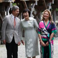 Spouses of G-7 leaders soak up Mie's scenic beauty