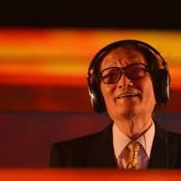 Isao Tomita, a pioneer of synthesizer music in Japan and worldwide, performs in this undated file photo. Tomita died of chronic heart failure last Thursday aged 84.