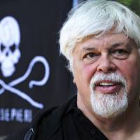 Sea Shepherd founder Paul Watson, a man who rams whalers for a living