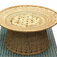 The in and outs of a woven table
