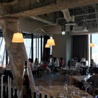 The Apollo, which occupies the top floor the newly opened Tokyu Plaza Ginza, marries eastern Mediterranean flavors with the lightness of touch that characterizes the best of contemporary Australian cooking. | ROBBIE SWINNERTON