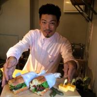 Former sushi chef Hayato Naruse of Camelback turns out some of the most sophisticated creations in Tokyo.   ROBBIE SWINNERTON