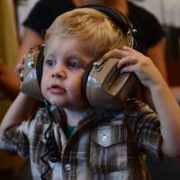 Sound advice: A U.S. study suggests babies who engage in musical play may have an easier time picking up language skills. | AFP-JIJI