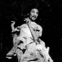 Tatsumi Hijikata, the co-founder of butoh, performing in 1968 | KYODO