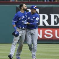 Blue Jays upset with timing of Rangers' retaliation
