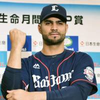 Mejia, Viciedo named NPB's top hitters for April