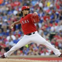 Darvish makes winning return for Rangers