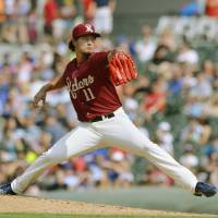 Darvish completes final rehab start in style