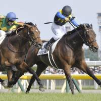 Makahiki triumphs by a nose in Japanese Derby