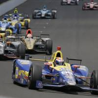 Rossi stuns field at 100th Indy 500