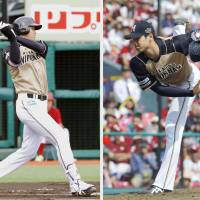 Otani ignites Fighters with bat, arm against Eagles