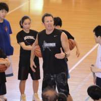 Baker brings skills clinics to Japan