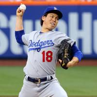 Utley, Maeda carry Dodgers to win over Mets