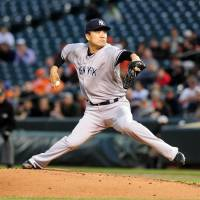 Yanks provide no run support for Tanaka in defeat