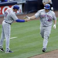 Colon sets mark with homer in win