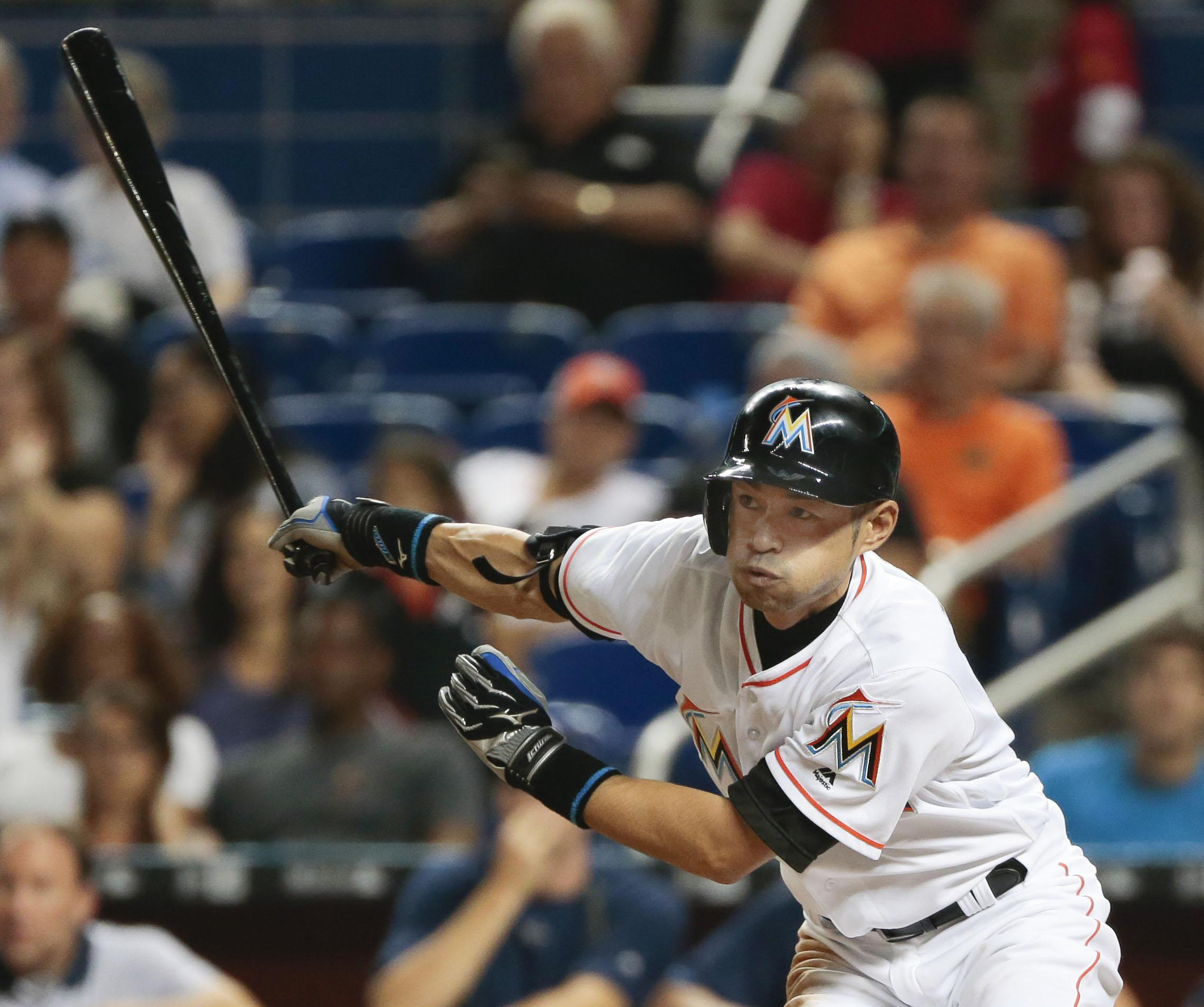 Ichiro turns back clock to lift Marlins | The Japan Times