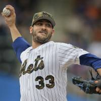 Harvey refinds form as Mets beat White Sox