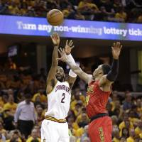 Cavaliers make record 25 3-pointers in Game 2 rout of Hawks