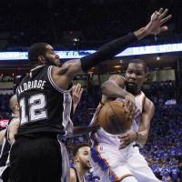 Thunder oust Spurs to reach West finals