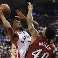 Raptors oust Heat, prepare for Cavs