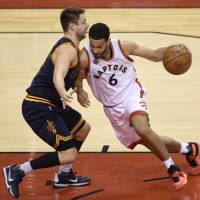 Raptors come up big to end Cavaliers' playoff streak