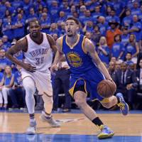 Thompson cans playoff record 11 3-pointers, leads charge as Warriors force decisive Game 7