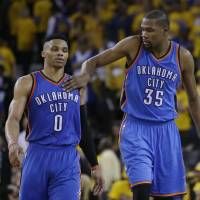 Thunder rally leads to upset of Warriors