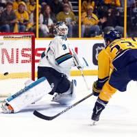 Predators down Sharks in OT to force Game 7